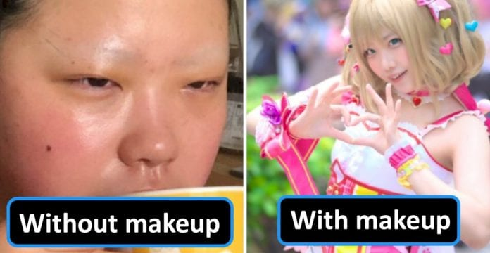 people-are-praising-this-cosplayer-for-showing-the-courage-to-showcase-her-off-makeup-look-on-the-internet