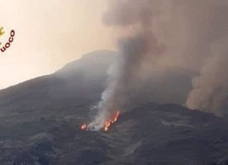 Spectacular Stromboli Eruption Sends People Fleeing for Cover