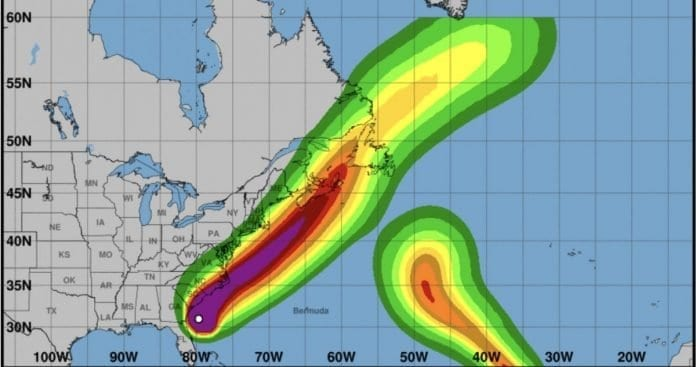 Dorian Strengthens to Category 3, Could Make Landfall in North Carolina