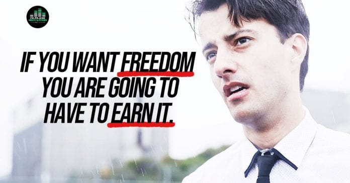 freedom-is-earned-–-motivational-video