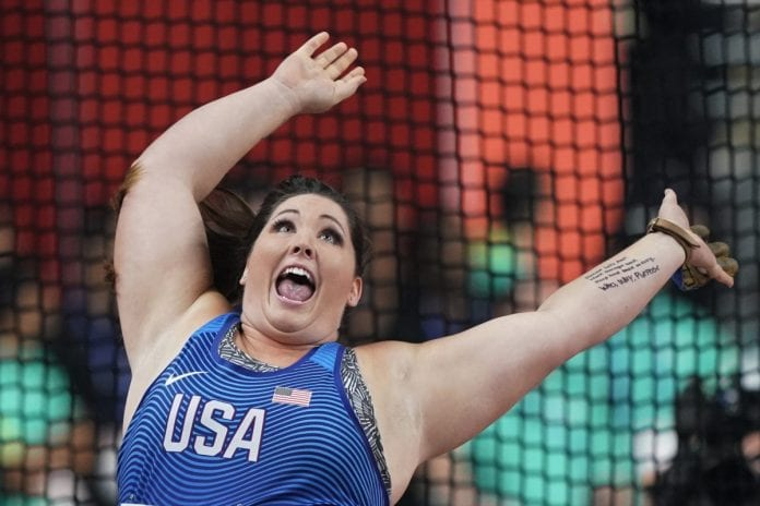 Priceless: Behind Price, US Wins 1st World Gold in Hammer