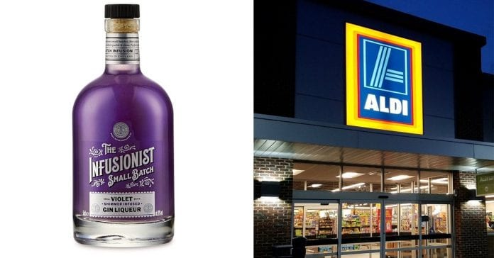 Aldi Is About To Launch A Parma Violet Shimmer Gin