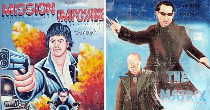10 Hilarious Overseas Posters Promoting Classic Hollywood Movies